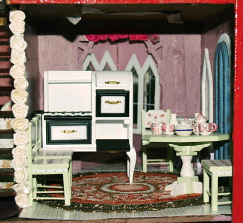 The Haunted Doll House Kitchen